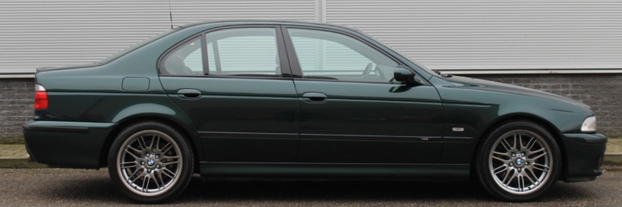 E39 M5 pre-facelift with 96.000 km in green !